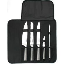 Achat en ligne Malette de cuisinier avec 4 couteaux et un fusil