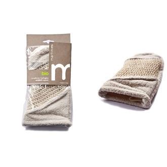Gant de gommage exfoliant 2 facesEt coton bio