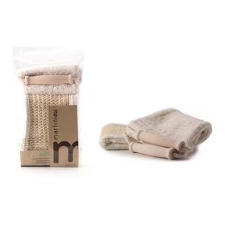 Sangle de massage - 2 faces en sisal et coton bio