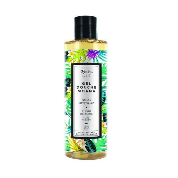 Achat en ligne Gel douche à l'extrait fleur de tiaré 250ml