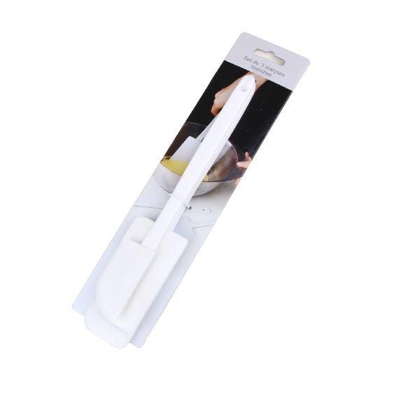 acquista online Set di 3 marise in silicone bianco