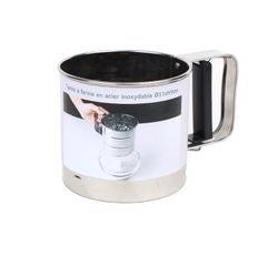 compra en línea Tamizador mecánico de harina de acero inoxidable (Ø10 cm)
