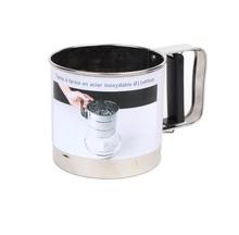 Achat en ligne Tamis mécanique à farine en inox 10cm