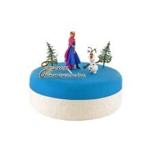 Achat en ligne Sujets décoratifs pour gâteau la reine des neiges Anna Olaf