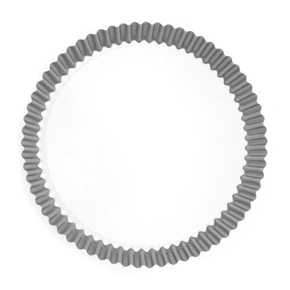 Tortiera con fondo amovibile rivestito metallo 30cm