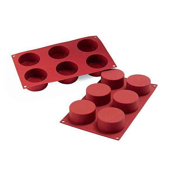 Stampo per 6 muffin Siliconflex 7cm