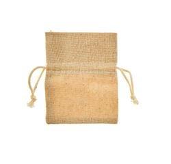 compra en línea Set de de 6 bolsitas de lino y yute (8 x 10,5 cm)