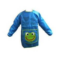 Achat en ligne Tablier de peinture pour enfant bleu et vert 110 à 135cm