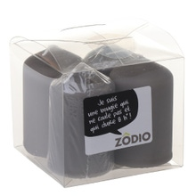 Achat en ligne 4 bougies votives zinc 6,5x4cm