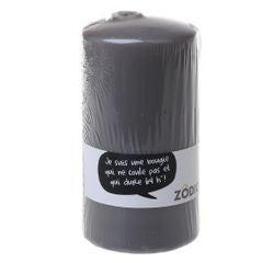 Achat en ligne Bougie cylindrique zinc 15x7,7cm