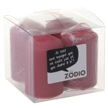 Achat en ligne 4 bougies votives cranberry 6,5x4cm