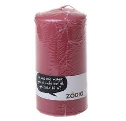 Achat en ligne Bougie cylindrique cranberry 15x7,7cm
