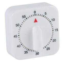Achat en ligne Minuteur mécanique carré 60min 6cm