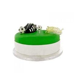 acquista online Soggetti decorativi per torta scarpetta calcio plastica