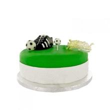 Achat en ligne Sujets décoratifs pour gâteau champion foot en plastique