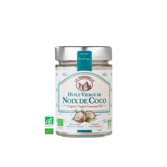 Huile vierge de noix de coco bio 250ml