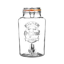 Achat en ligne Fontaine à boisson en verre transparente 8L