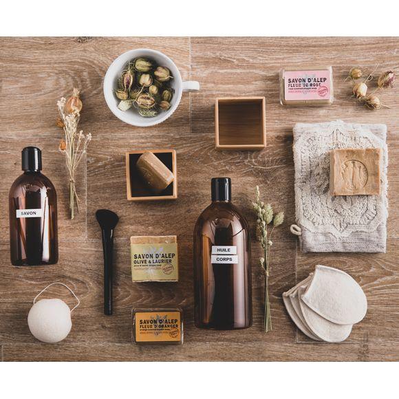 acquista online Flacone ambrato per sapone liquido, 500ml