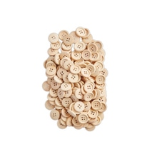 Achat en ligne Lot de 200 boutons en bois 2cm