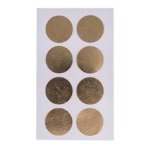 Achat en ligne Stickers rond dorés pour fermer les paquets