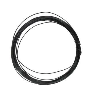 Bobine de fil d'aluminium noir 0,4mmx10m