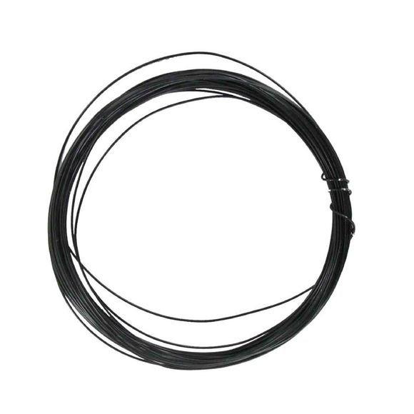 Achat en ligne Bobine de fil d'aluminium noir 0,4mmx10m