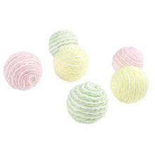 Achat en ligne Set de 9 boules cordons rose