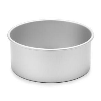Moule à manqué rond en aluminium antiadhésif 23cm haut 10cm