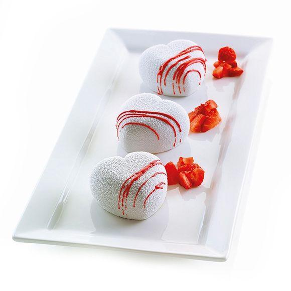 Stampo silicone 3D Cuoricino