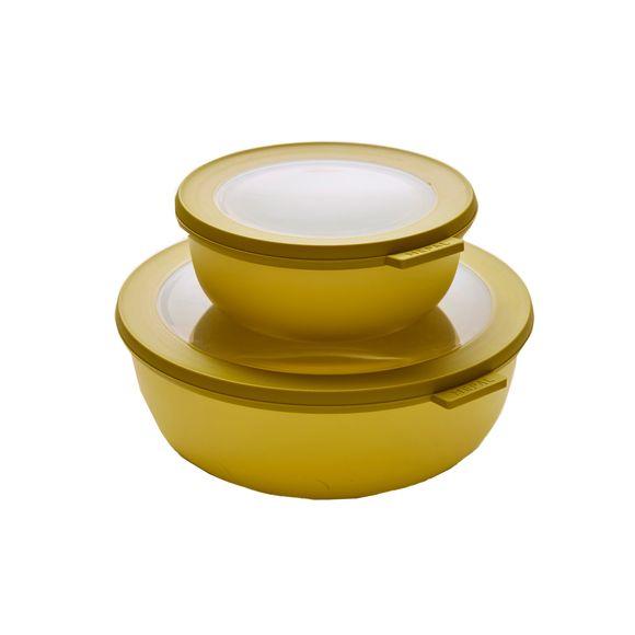Boite conservation plastique Cirqula nordic jaune 750ml
