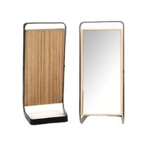 Achat en ligne Miroir à poser pivotant bois et métal 1x 57x51,5x32cm