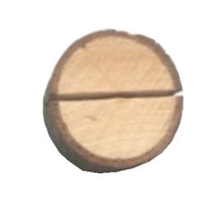 Achat en ligne Marques place rondin de bois, en sachet de 4