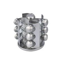 Achat en ligne Carroussel à épices en métal 12 pots17x17x20cm