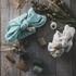 Fil de coton lurex twist rose marbre 50mx2mm