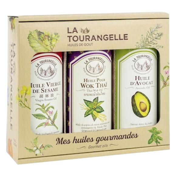 Trio d'huiles de Sésame, Avocat, Wok Thaï 250ml