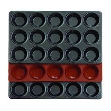 Achat en ligne Moule à 15 tartelettes en silicone 30x18cm