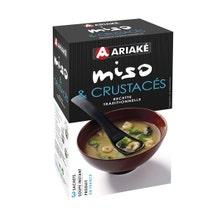 Achat en ligne Soupe Miso Tofu 3 sachets 33g