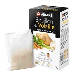Bouillon volaille 5 sachets 11g