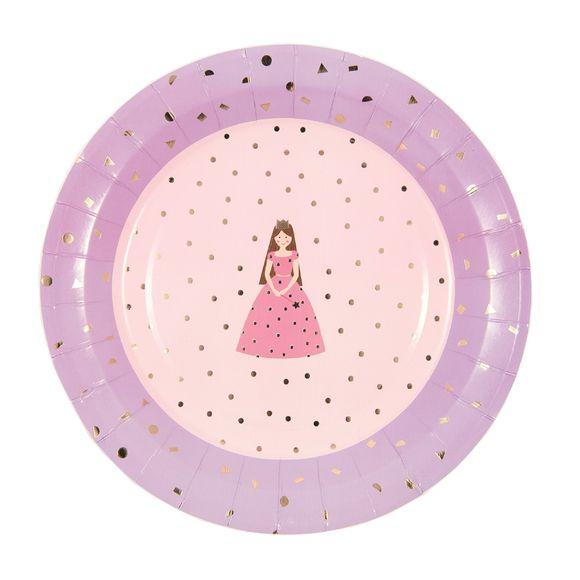 Achat en ligne Assiettes en carton princesse