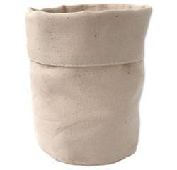 Achat en ligne Vide poche tissu blanc cassé 16cm