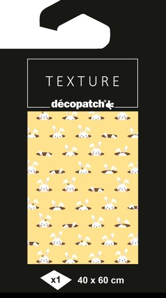 Achat en ligne Feuille foil jaune lapin chapeau n°781 40x60cm