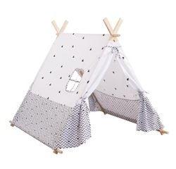 Achat en ligne Tente décorative pour enfant blanche et noire