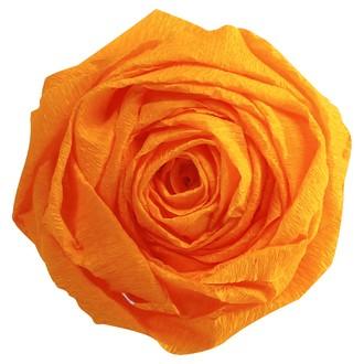 CLAIREFONTAINE - Papier crépon jaune or 2,50x0,50m