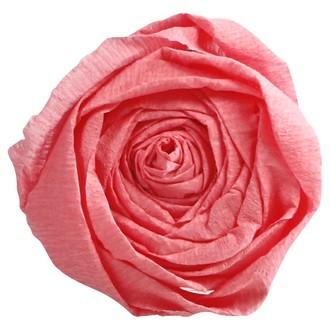 CLAIREFONTAINE - Papier crépon rose moyen 2,50x0,50m