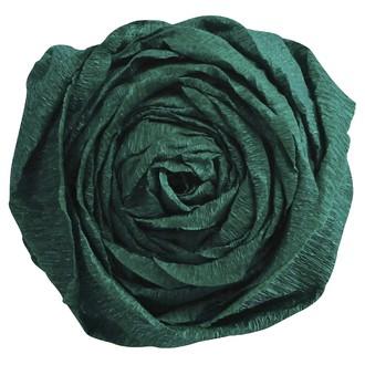 CLAIREFONTAINE - Papier crépon vert bouteille 2,50x0,50m