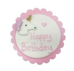 compra en línea Decoración de azúcar de unicornio