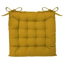 Achat en ligne Galette chaise ocre 38x38cm