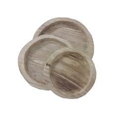 Achat en ligne Plateau pour cloche en bois d16xh2.5cm