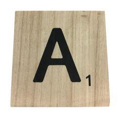 acquista online Lettera scarabeo A legno 10x10x0,6cm
