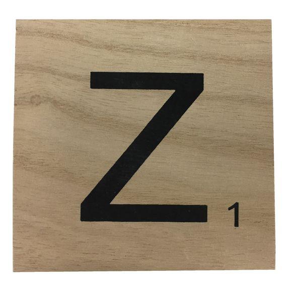 acquista online Lettera scarabeo Z legno 10x10x0,6cm